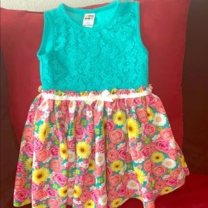 Girl's Floral Dress Size 4T
